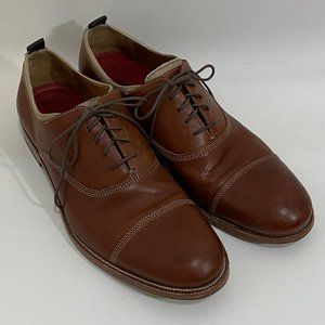 Johnston & Murphy Clayton Cap Toe Oxford Shoes